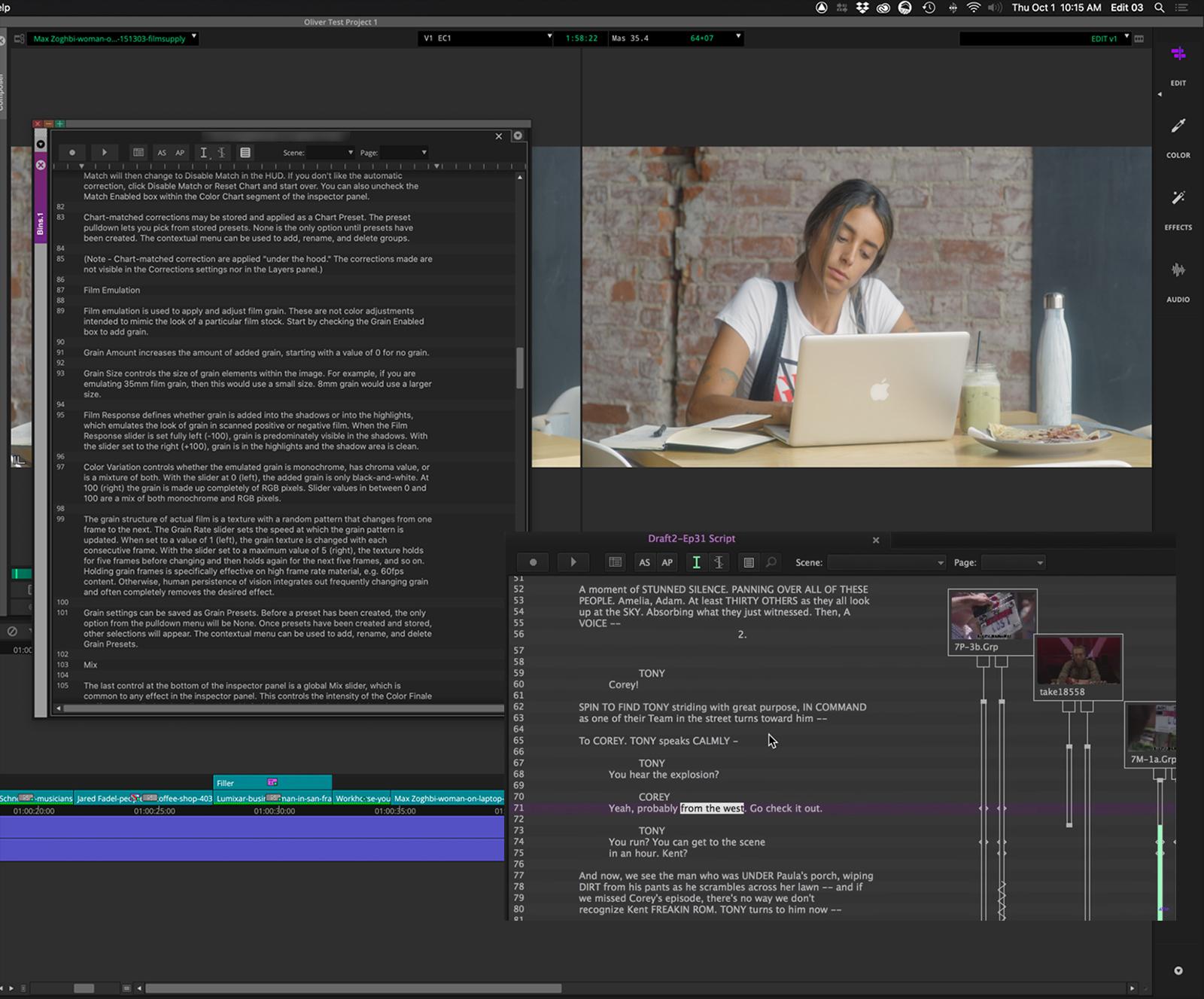 Avid Media Composer ScriptSync
