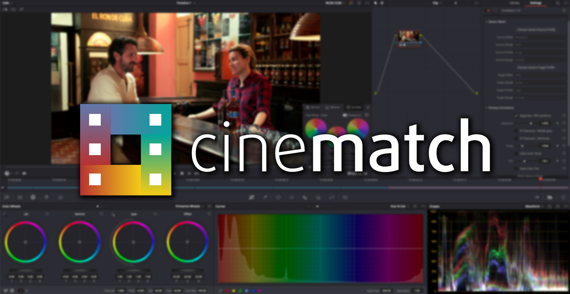 CineMatch from FilmConvert 2