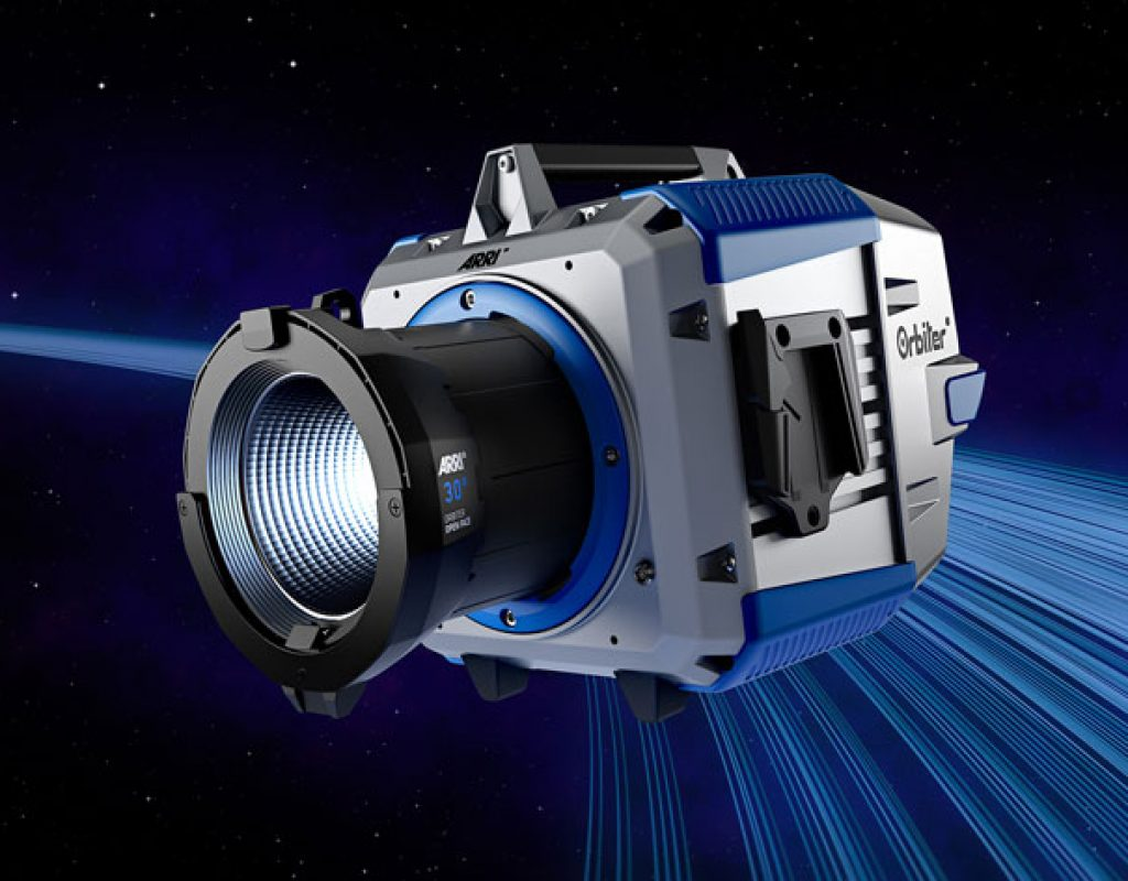 ARRI Orbiter: ultra-bright LED with a variety of optics
