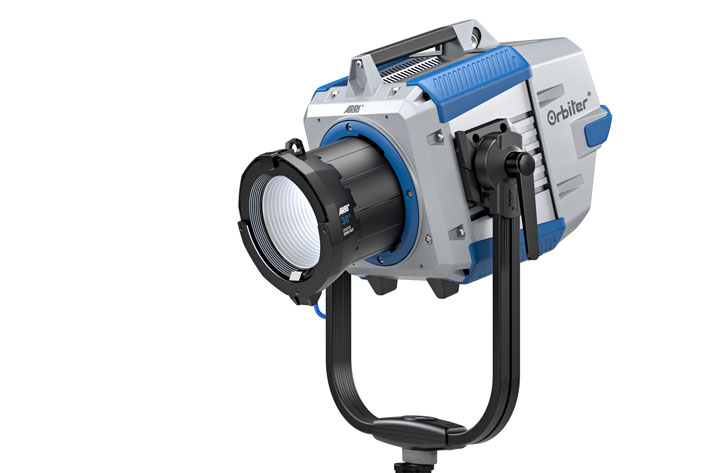 ARRI Orbiter: ultra-bright LED with a variety of optics