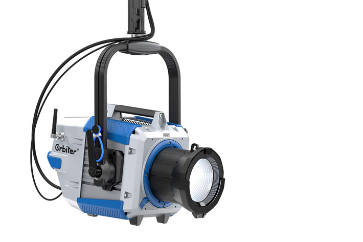 ARRI Orbiter: ultra-bright LED with a variety of optics to choose from 6