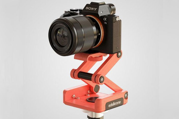 ORTAK Skate 3D: 3D print your own tabletop dolly and tripod head 6
