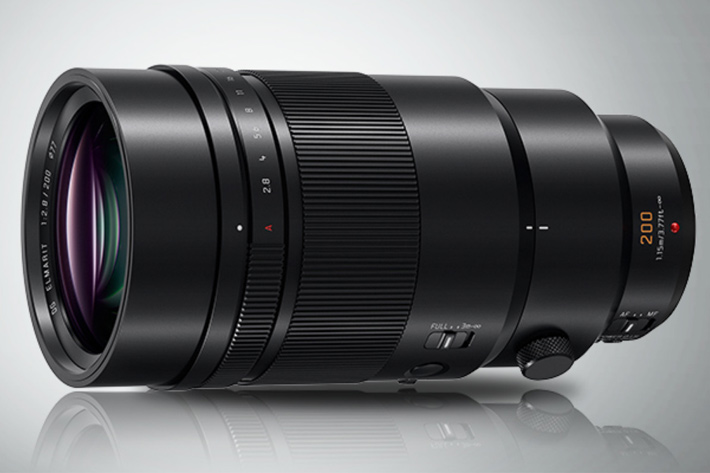 Panasonic's new 200mm f/2.8: the miracle of multiplication