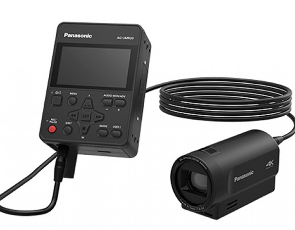 Panasonic's combo for 4K acquisition