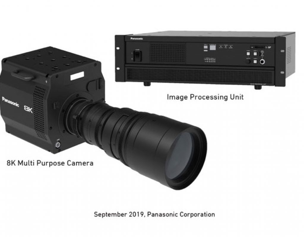 IBC 2019: Panasonic shows camera system with world's first 8K organic sensor