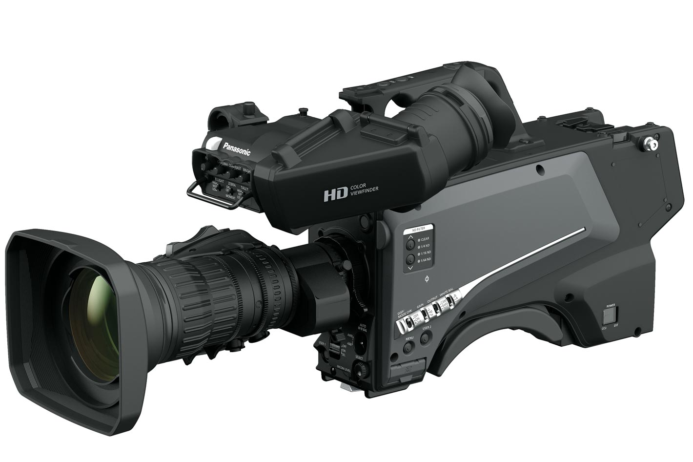 Panasonic AK-HC3900 a studio camera upgradable to native 4K