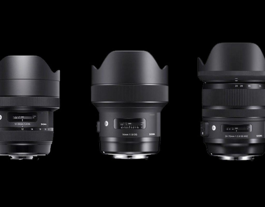 Panasonic AU-EVA1 5.7K compatible with six more Sigma ART lenses