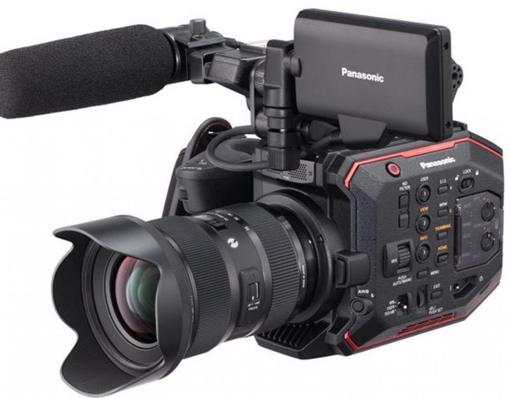 Panasonic AU-EVA1 revealed at Cine Gear Expo