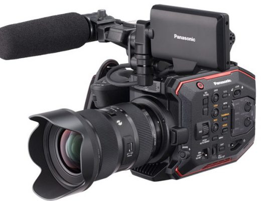 Panasonic AU-EVA1 revealed at Cine Gear Expo