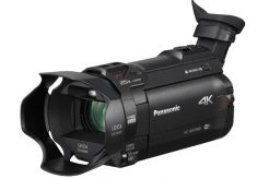 Panasonic: 4K camcorders for amateurs and professionals