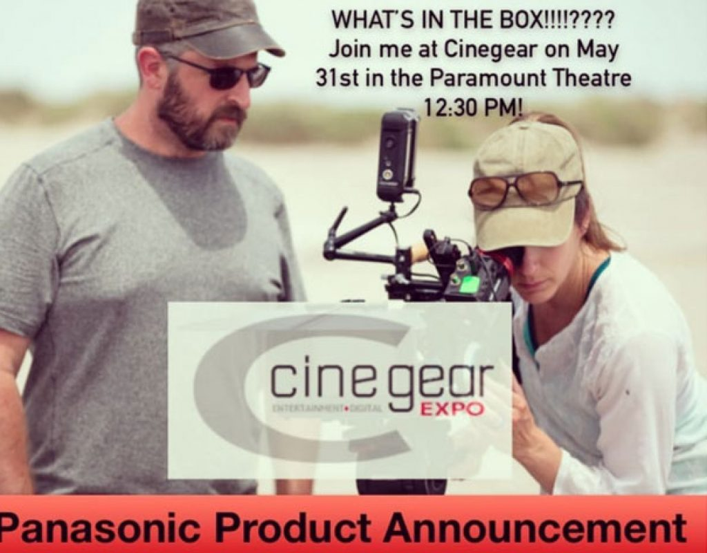 Panasonic will reveal new LUMIX Cine products at Cine Gear Expo