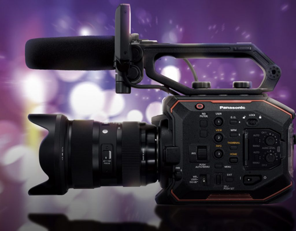 Close encounters of the third kind with Panasonic's new AU-EVA1