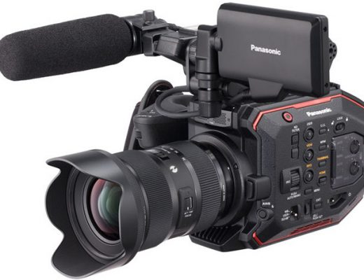 Panasonic AU-EVA1 cinema camera available now