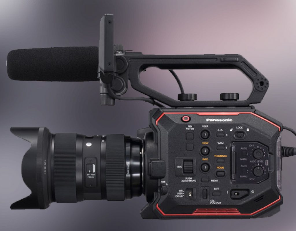 Panasonic AU-EVA1: RAW output is coming