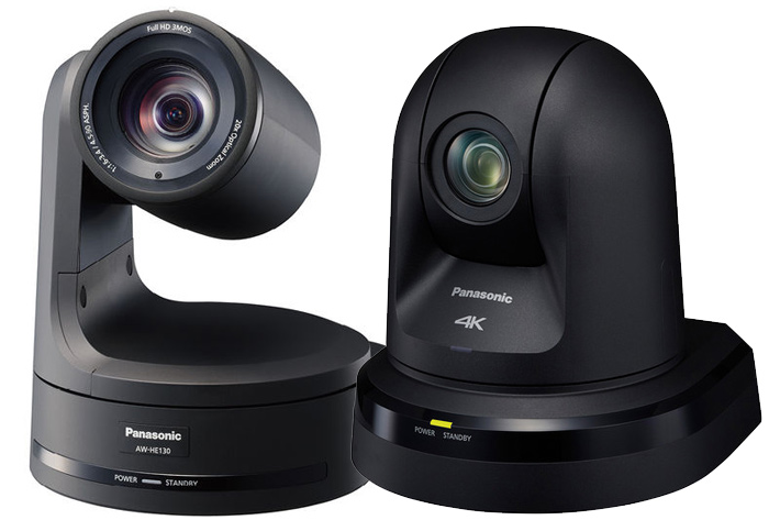 Panasonic delivers full NDI line of PTZ cameras