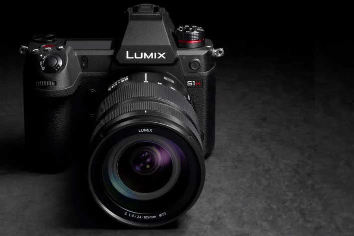 anasonic LUMIX S1H: live announcement today