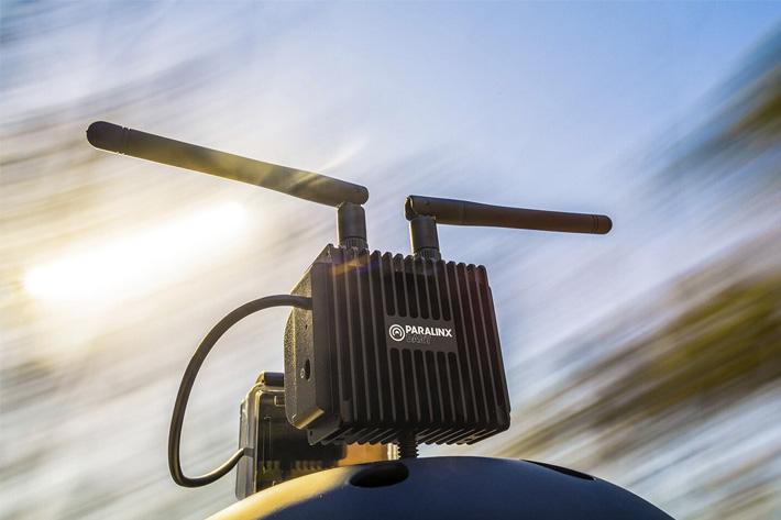 Paralinx Dart: long-range HD transmission