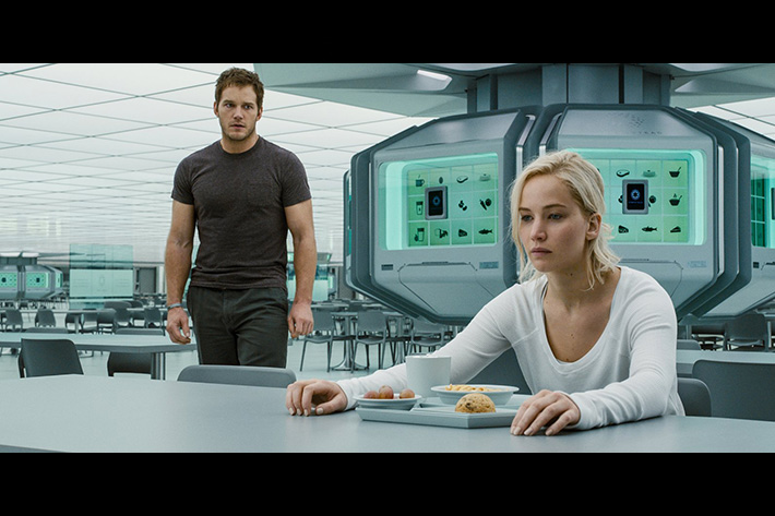 Passengers: inventing the sound of a space love story