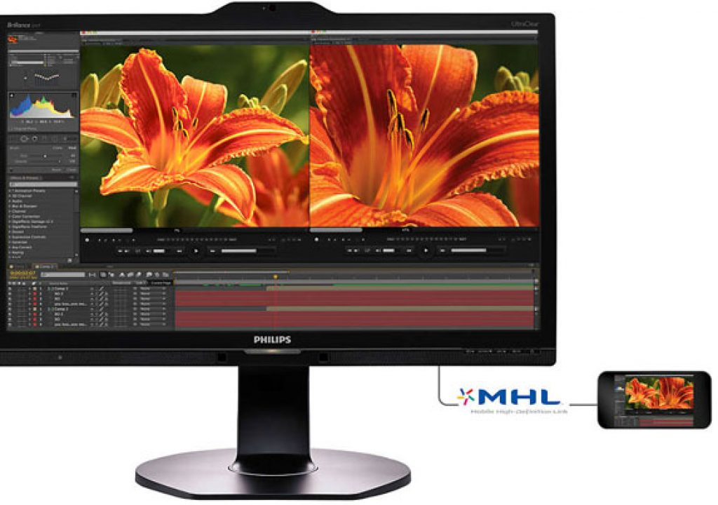 Philips: a new 4K UHD 23.8 inch monitor 1
