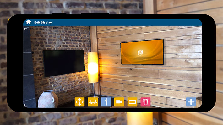 Philips ARc: one app to configure video walls… no ladder needed