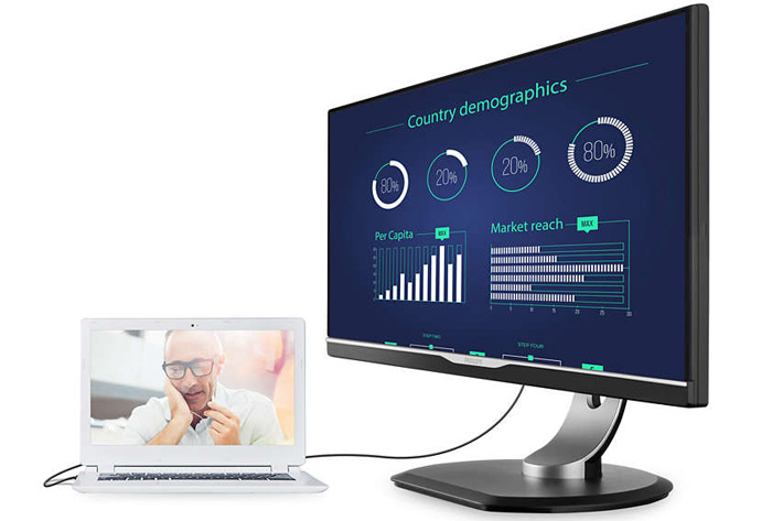 Philips: new monitor uses USB Type C