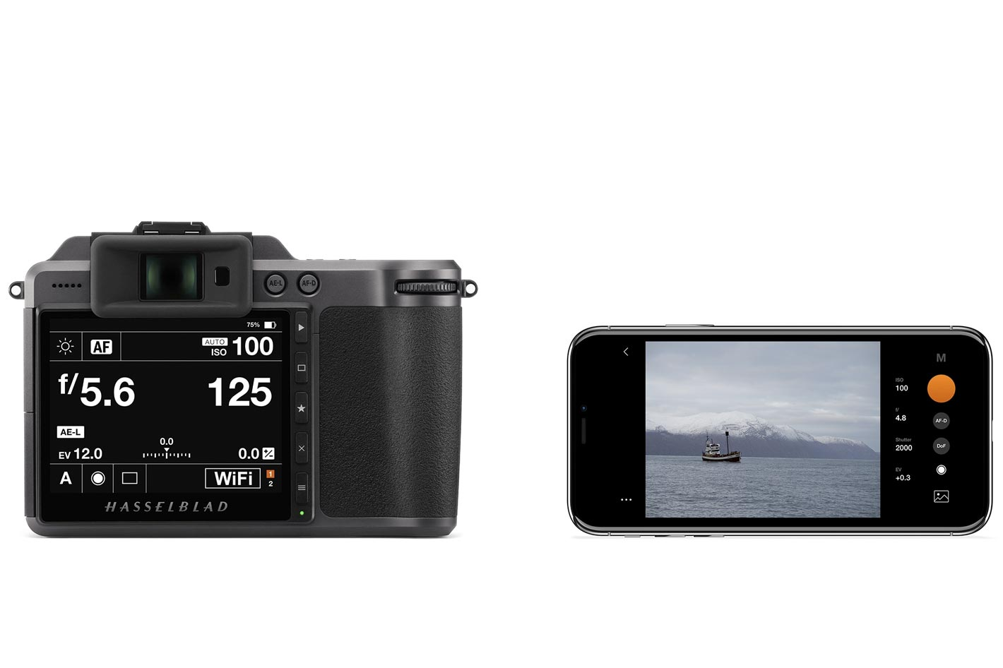 Phocus Mobile 2: control your Hasselblad from your iPhone