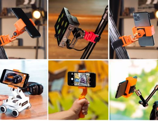 PhoneGRIP 3D: a printable phone holder from edelkrone
