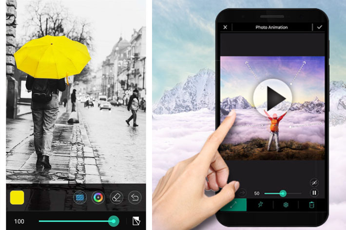 Create photo animations with the FREE CyberLink's PhotoDirector App