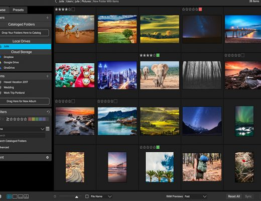 Video browsing and organizing now available in ON1 Photo RAW 2018