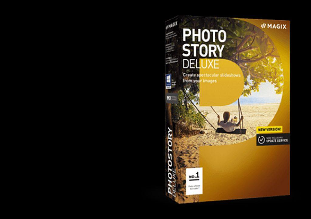 New MAGIX Photostory Deluxe