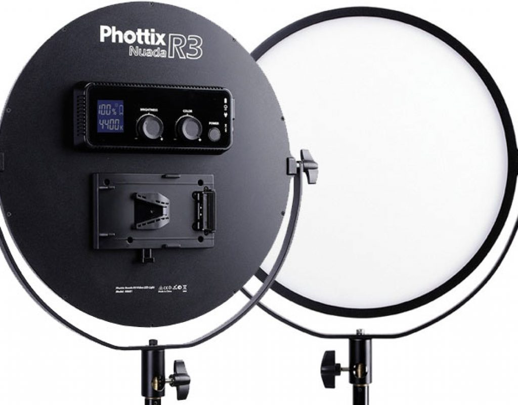 Phottix Nuada R3 a new Video LED for vloggers and product photographers