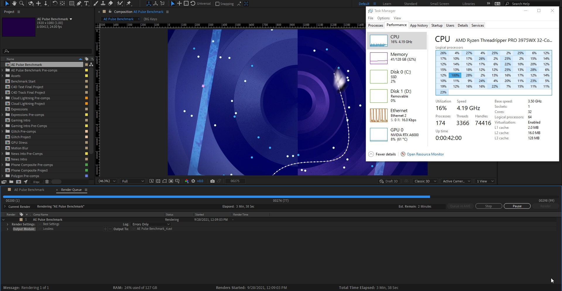 How to choose the best hardware for Multi-Frame Rendering in After Effects 4