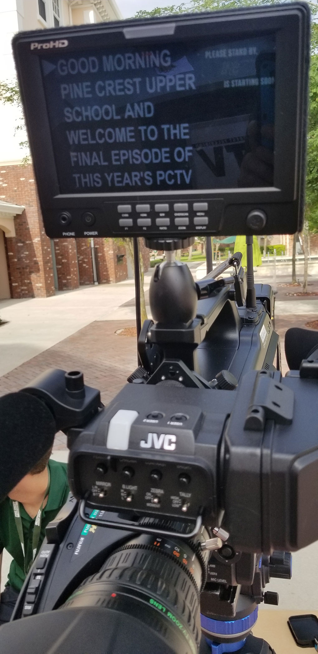Pine Crest Television chooses JVC GY-HC900 CONNECTED CAM