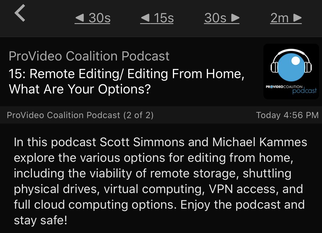 Talking remote editing with Michael Kammes