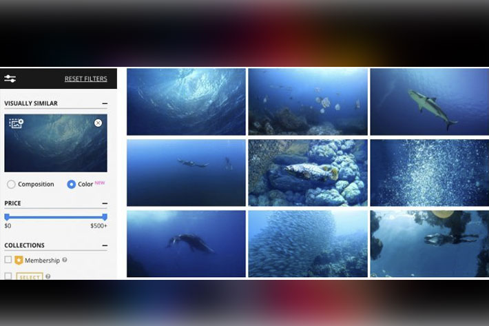 Pond5 introduces Color Similarity for video search
