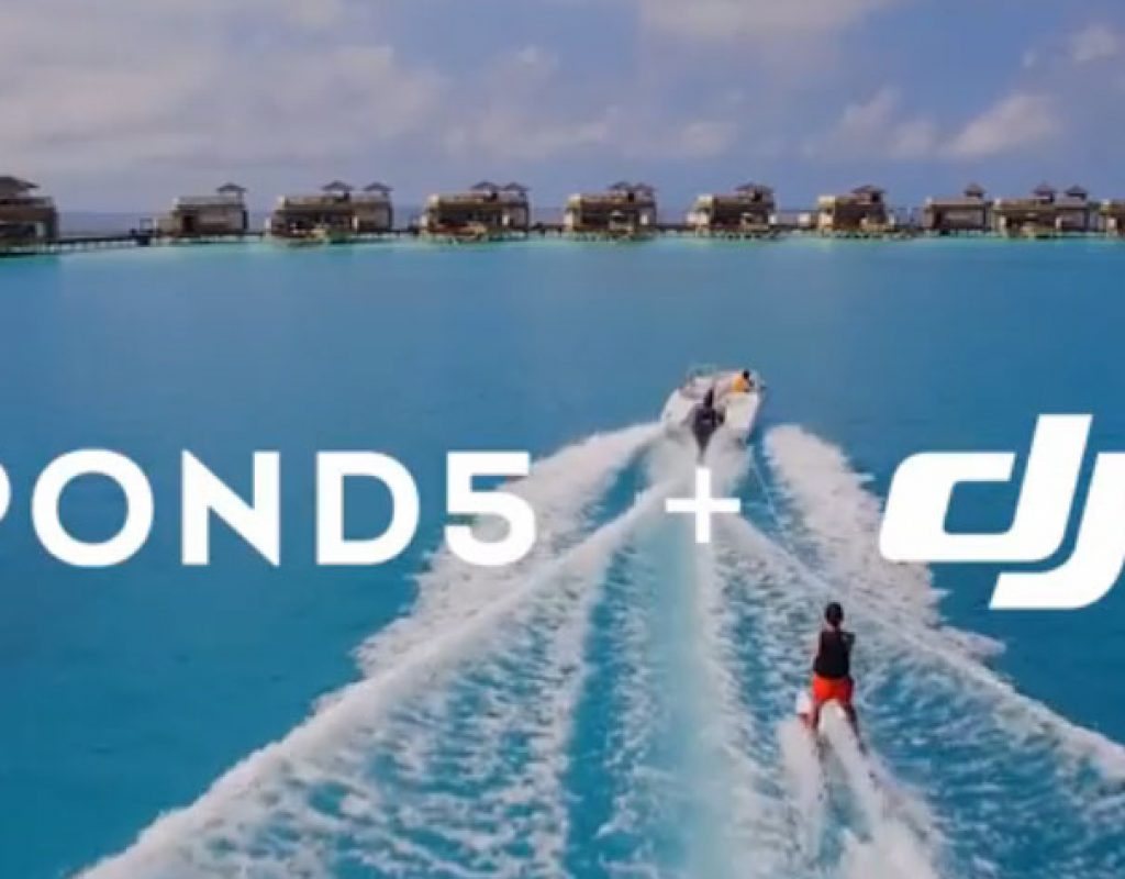 Pond5 DJI licensable aerial drone footage collection launched