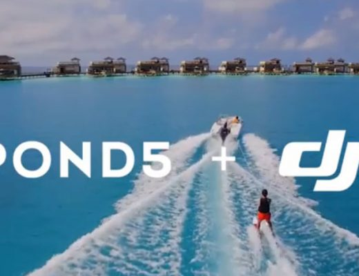 Pond5 + DJI licensable aerial drone footage collection launched