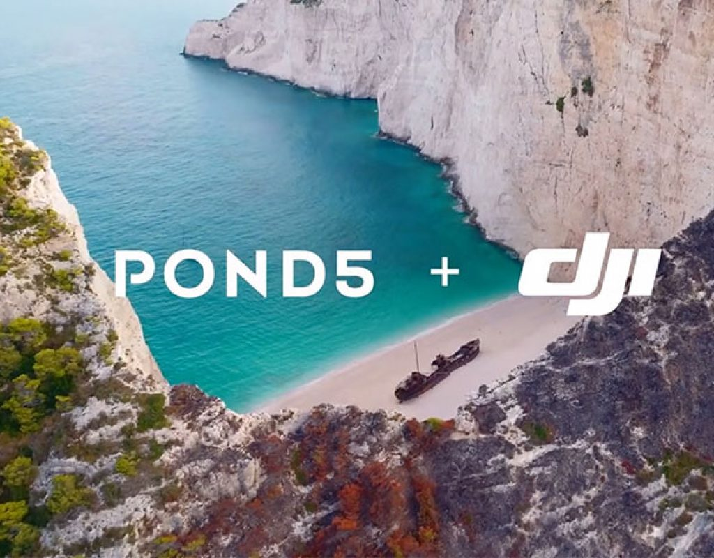 New Pond5 and DJI aerial footage available