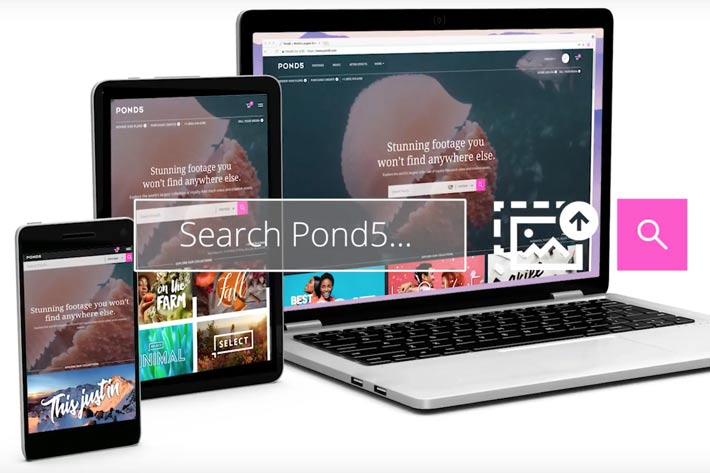 Pond5 uses AI for Visual Search