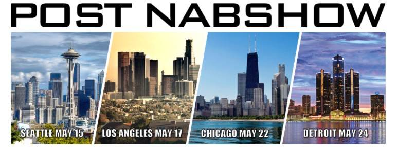 Post NAB Show banner