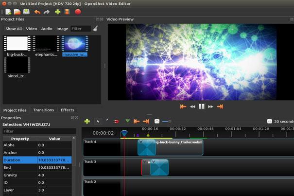 postproduction openshot2