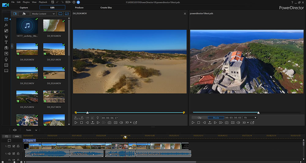 Review: PowerDirector 18 offers audio scrubbing, nested projects and more 1