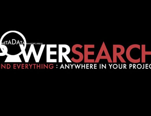 PowerSearch: Intelligent search in Premiere Pro Timeline