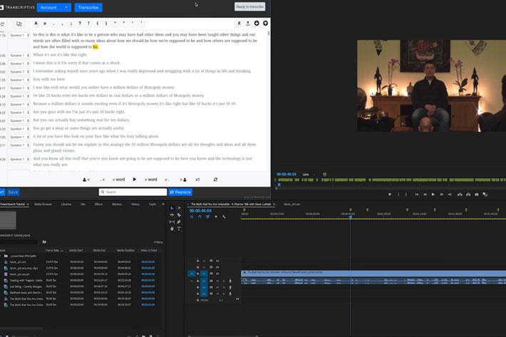 PowerSearch: Intelligent search in Premiere Pro Timeline