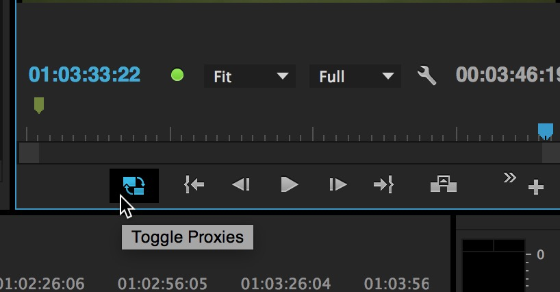 Kicking the tires on Proxy Editing with Adobe Premiere Pro CC 2015.3 3