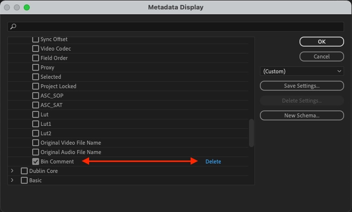 Adobe Premiere Pro Quicktip: Add a Comment column for Bins 20