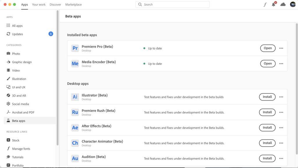 Una nueva experiencia de Adobe Premiere Pro comienza con nuevos flujos de trabajo de IMPORTACIÓN y EXPORTACIÓN 26