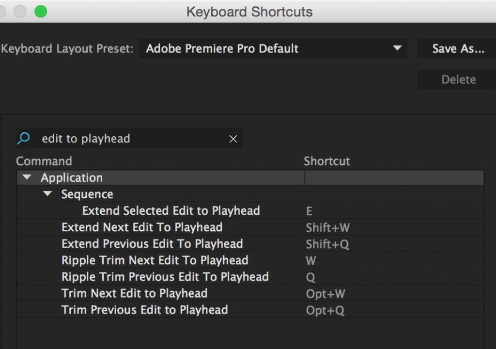 Do you know the Adobe Premiere Pro trimming keyboard shortcuts? 1