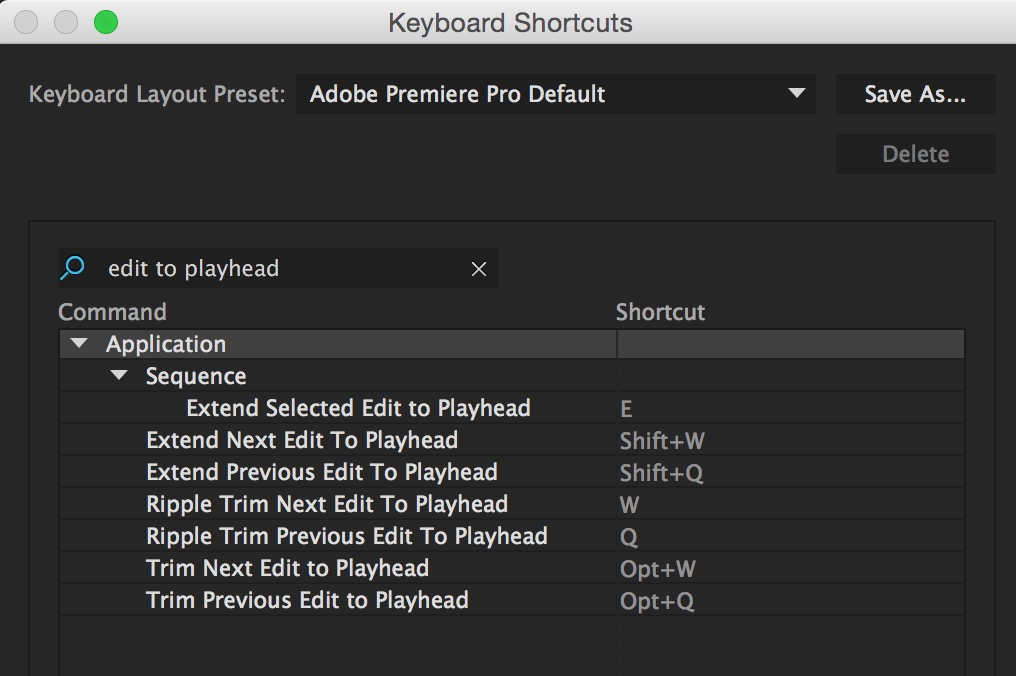 Do you know the Adobe Premiere Pro trimming keyboard shortcuts? 8