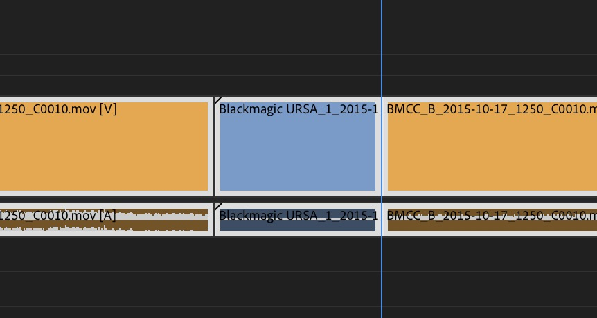 Adobe Premiere Pro Fall 2018 release new timeline highlight